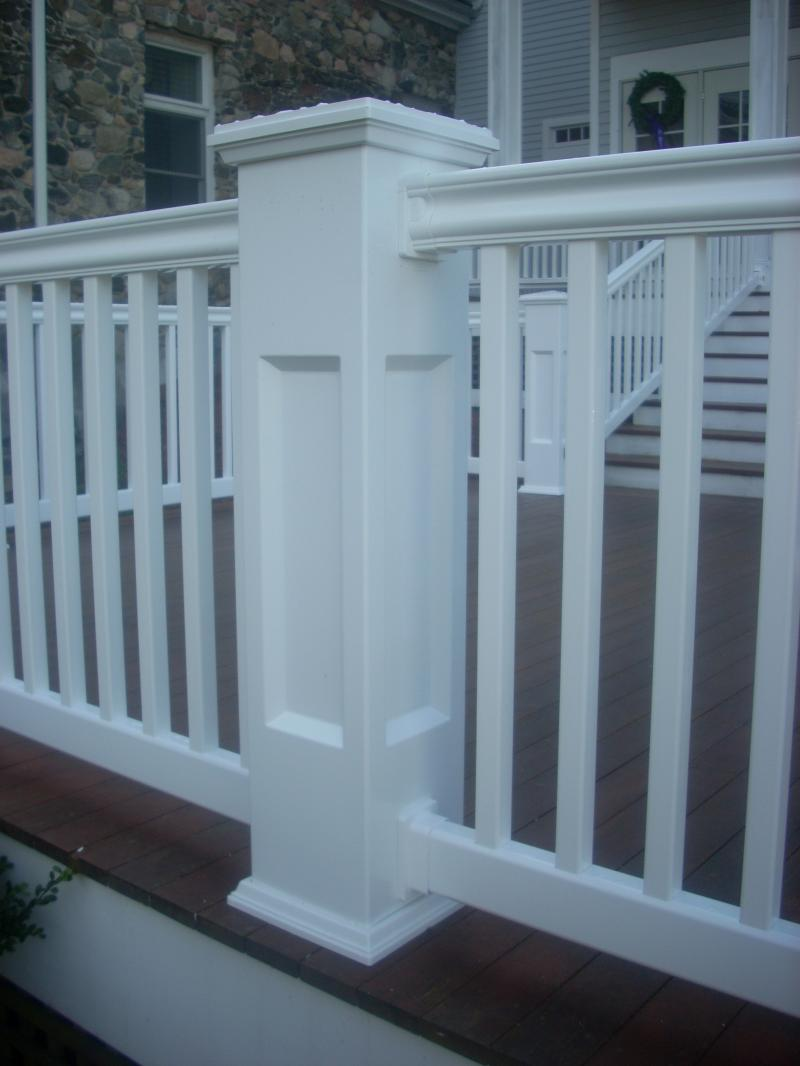 Go Vinyl Fence Railings